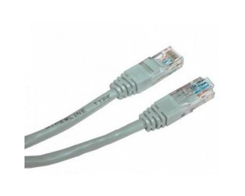 Cablexpert Патч-корд UTP PP12-2M кат.5, 2м, литой, многожильный (серый)