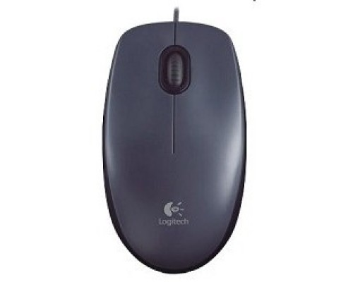 910-001794 Logitech Mouse M90 Optical, USB Dark Grey RTL