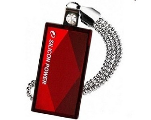 USB 2.0 Silicon Power USB Drive 32Gb, Touch 810 SP032GBUF2810V1R , Red
