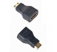 Gembird HDMI-miniHDMI 19F/19M, золотые разъемы, пакет A-HDMI-FC