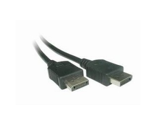 DisplayPort Gembird, 1.8м, 20M/20M, черный, экран, пакет CC-DP-6