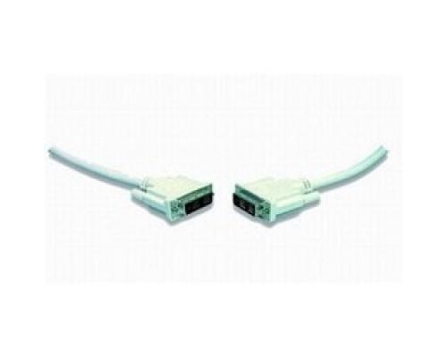 DVI-D single link Gembird, 1.8м, 19M/19M, экран, феррит.кольца, пакет CC-DVI-6C