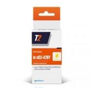 T2 CLI-426Y Картридж (IC-C(C)LI-426-Y) для Canon Pixma iP4840/iP4940/MG5140/MG5240 желтый с чипом