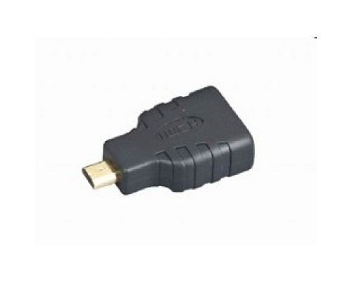 Gembird HDMI-microHDMI 19F/19M, золотые разъемы, пакет A-HDMI-FD