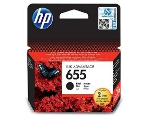 HP CZ109AE Картридж №655, Black DeskJet IA 3525/5525/4615/4625, Black