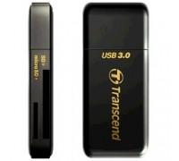 USB 3.0 Multi-Card Reader F5 All in 1 Transcend TS-RDF5K Black