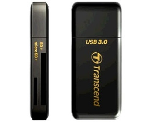 USB 3.0 Multi-Card Reader F5 All in 1 Transcend TS-RDF5K Black