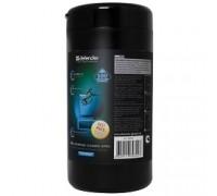 DEFENDER Влажные чистящие салфетки CLN 30322 для экранов в тубе, 100шт.