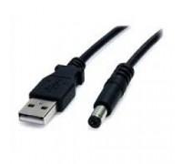 Gembird/Cablexpert CC-USB-AMP35-6, USB 2.0 Pro , AM/DC 3,5мм (для хабов), 1.8м, экран, черный, пакет