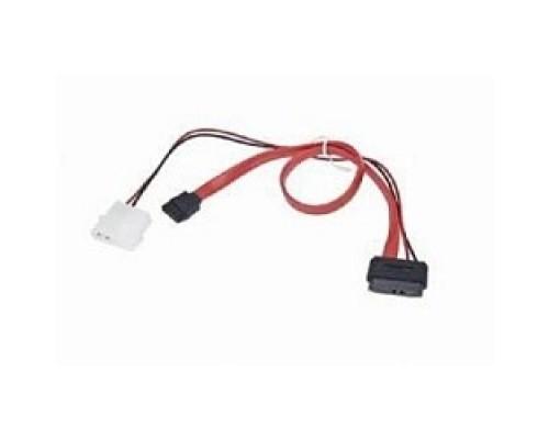 Gembird/Cablexpert Combo miniSATA , molex+SATA/miniSATA, 6pin+7pin, (длина инт-35см, пит-30см),(CC-SATA-C2)