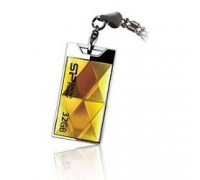 Silicon Power USB Drive 32Gb Touch 850 SP032GBUF2850V1A USB2.0, Amber