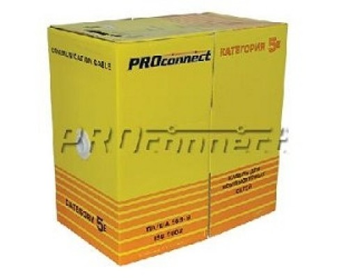 Proconnect (01-0142-3) FTP CAT5e 4 пары (305м) 0.51 мм CCA