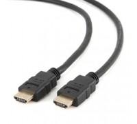 HDMI Gembird/Cablexpert , 1м, v1.4, 19M/19M, серия Light, черный, позол.разъемы, экран (CC-HDMI4L-1M)