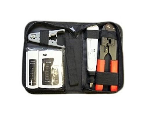 5bites TK030 , клещи LY-T210C 8p8c, LY-T2020 Krone, нож LY-501C, тестер кабеля LY-CT005