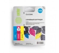 CACTUS CC644HE Картридж струйный Cactus CS-CC644 трехцветный для №121XL HP DeskJet D1663/D2563/D2663/D5563/F2423 (18ml)