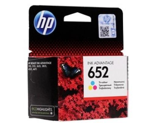 HP F6V24AE Картридж №652, Color DJ IA 1115/2135/3635/4535/3835/4675 (200стр.)