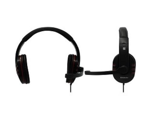 Defender Warhead G-160 черный, кабель 2,5 м 64113