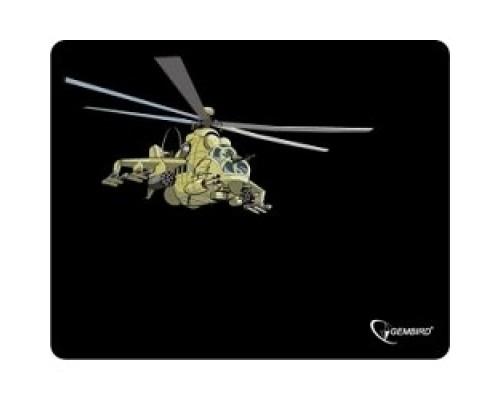 Коврик для мыши Gembird MP-GAME9, рисунок- вертолет, размеры 250*200*3мм