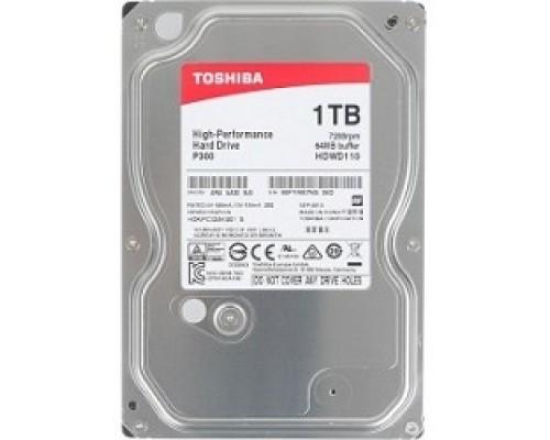 1TB Toshiba (HDWD110UZSVA) P300 SATA 3, 7200 rpm, 64Mb buffer, 3.5