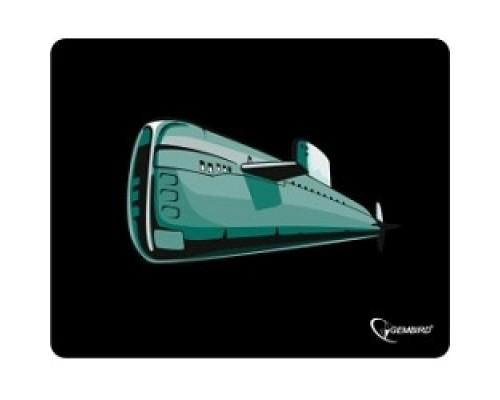 Коврик для мыши Gembird MP-GAME7 рисунок- подводная лодка, размеры 250*200*3мм