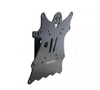 Кронштейн Kromax CASPER-201 black, для LED/LCD TV 20*-40, max 30 кг, 1 ст свободы, наклон +5°-15°,