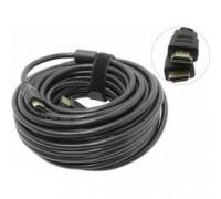 Exegate EX194338RUS HDMI (19M -19M) 15м Exegate, v1.4b, позолоченные контакты
