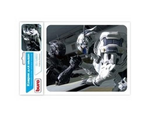 Коврик для мыши Buro BU-S48012 рисунок/роботы 375266