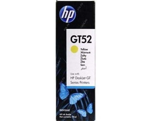 HP M0H56AE Чернила GT52 Желтый (GT5810/5820 8000 стр) (70 мл)