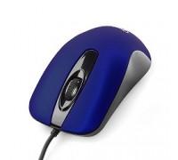 Gembird MOP-400-B dark blue USB, 1000DPI, бесшумный клик