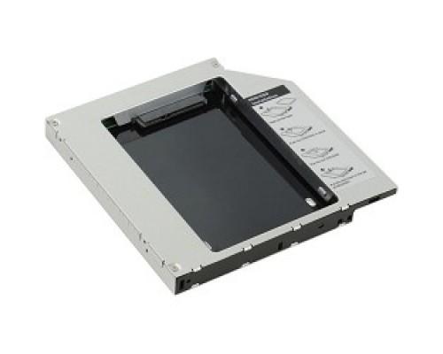 AgeStar SSMR2S Сменный бокс для HDD/SSD SATA-SATA, металл-пластик, черный, 2.5