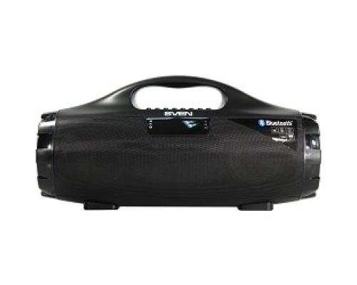 SVEN PS-460, черный (18 Вт, Bluetooth, FM, USB, microSD, LED-дисплей, 1800мА*ч)