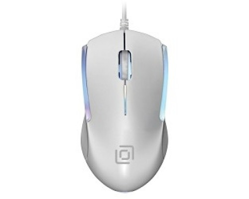 Oklick 245M белый оптическая (1000dpi) USB (3but) 471480