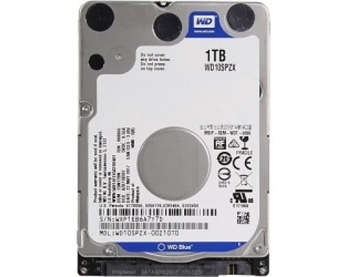 1TB WD Blue (WD10SPZX) SATA 6Gb/s, 5400 rpm, 128Mb buffer