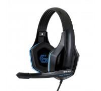 Gembird MHS-G10, код Survarium, черн/син, рег. громкости, кабель 2.5м