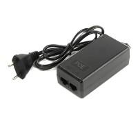 ORIENT SAP-C48POE, PoE инжектор питания 24 Вт, AC 100-240V/ DC 48V, 0.5A, вход: RJ45 LAN 10/100, выход: RJ45 PoE тип B (4/5+,7/8-), совместим с оборудованием PoE IEEE 802.3af, длина кабеля 0.9 м