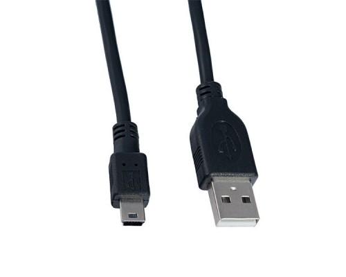 PERFEO USB2.0 A вилка - Mini USB 5P вилка, длина 1,8 м. (U4302)