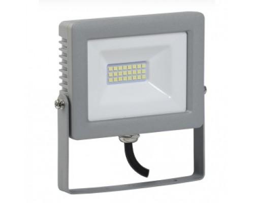 Iek LPDO701-20-K03 Прожектор СДО 07-20 светодиодный серый IP65 6500 K IEK