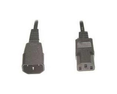 питания сист.блок-монитор Gembird 3.0м, черный, с зазем., пакет PC-189-10