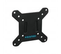 Кронштейн Kromax VEGA-3 new черный 15-32 макс.20кг настенный фиксированный