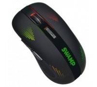Oklick 975GW черный оптическая (2400dpi) беспроводная USB игровая (6but) 1018262