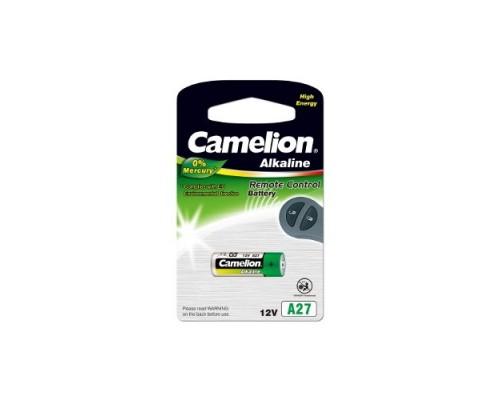Camelion LR27A BL-1 Mercury Free (A27-BP1, батарейка,12В) (1 шт. в уп-ке)
