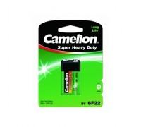 Camelion 6F22 BL-1 (6F22-BP1G, батарейка,9В) (1 шт. в уп-ке)