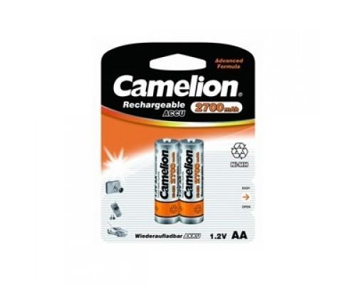 Camelion AA-2700mAh Ni-Mh BL-2 (NH-AA2700BP2, аккумулятор,1.2В) (2 шт. в уп-ке)