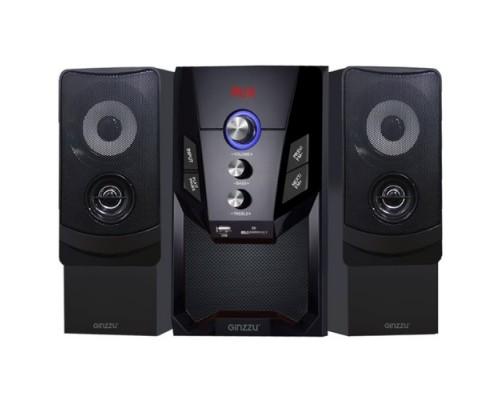 Ginzzu GM-415, Акустическая система 2.1, 50W/BT/USB/SD/FM/ДУ