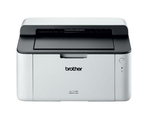 Brother HL-1110R(1) A4, 20 ppm, 2400 x 600 т/д, USB, лоток на 150 л.
