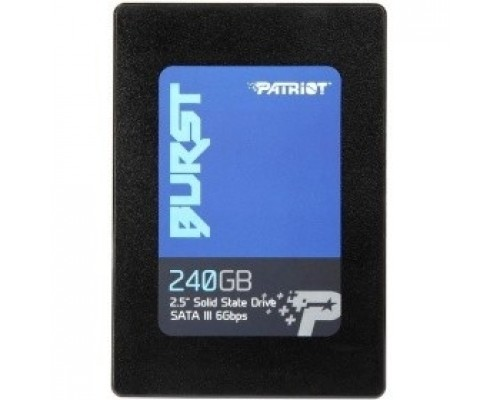Patriot SSD 240Gb Burst PBU240GS25SSDR SATA 3.0