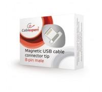 Cablexpert Адаптер lightning для магнитного кабеля, коробка (CC-USB2-AMLM-8P)