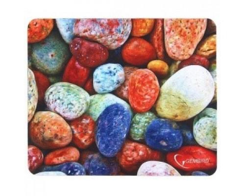 Коврик для мыши Gembird MP-STONES, рисунок камни, размеры 220*180*1мм, полиэстер+резина
