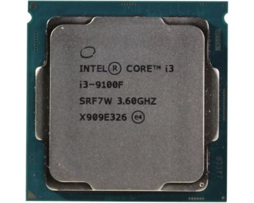 CPU Intel Core i3-9100F Coffee Lake OEM 3.60Ггц, 6МБ, Socket 1151v2 CM8068403358820/CM8068403377321