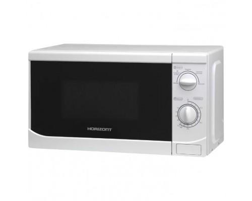 HORIZONT 20MW700-1378B Микроволновая печь, 700 Вт, 20 л, цвет белый